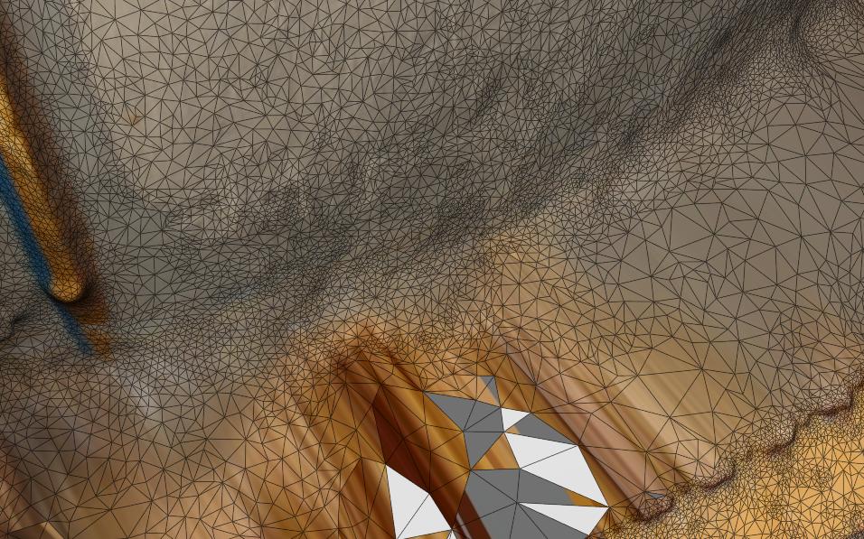 3D Kathesimbhu Stupa Texture mesh