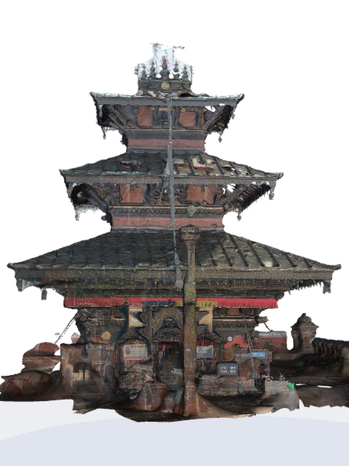 Balkumari 3D model