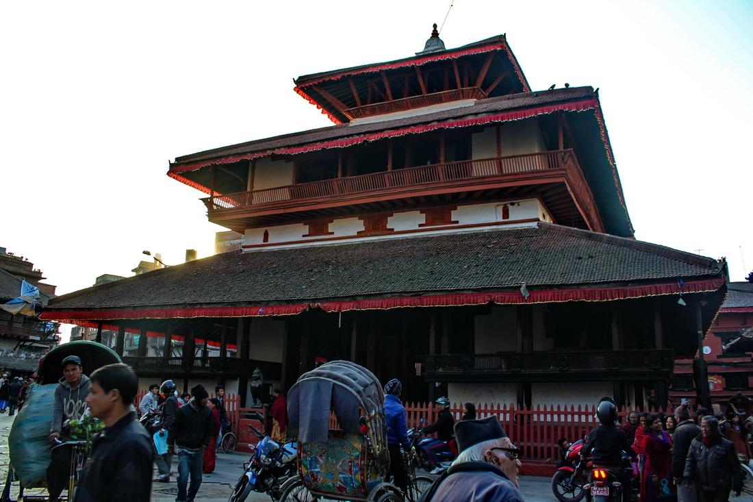 Kasthamandap before earthquake Kathmandu Durbar Square
