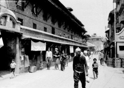 At Chinkanmungal towards Kastamandap in 1973ADSource and Copyright: Tod Ragsdale
