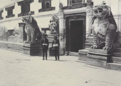 Entrance of Bhaktapur Durbar 1901AD