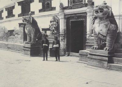 Entrance of Bhaktapur Durbar 1901AD