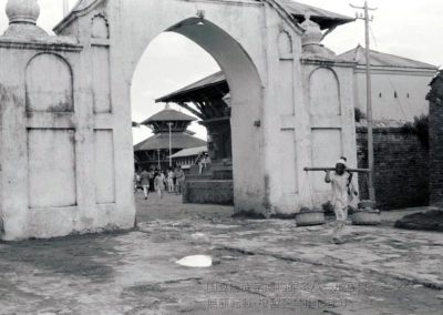 Gate to Bhaktapur Durbar SquarePhoto by: Takayama Ryuzo 1958