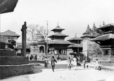 Kathmandu Durbar SquarePhoto by Captain C.J MorrisDate: 1926AD