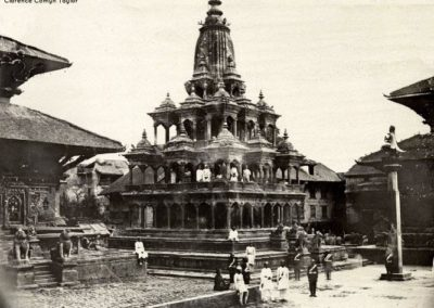 Krishna Mandir (Temple)View from Southeast more than 150years agoPhotograph by: Clarence Comyn Taylor, ca 1863 AD