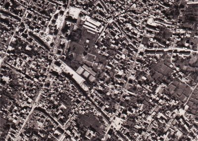 Patan Durbar Square and surrounding area 1981ADTime Lapse Image A1Source: Survey Department