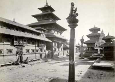 Patan Durbar Square from NorthwestDate Unknown