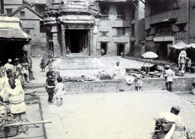 Street Scene near Simha Sattal in Basantapur Herzog and Higgins