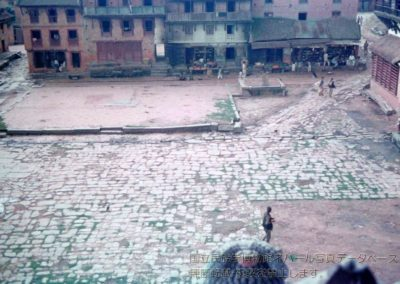 Taumadi Square, BhaktapurPhoto by: Takayama Ryuzo 1958